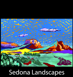 Inspired Landscapes Of Sedona