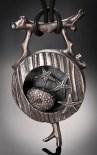 Metal Clay Shadow Box by Patrik Kusek