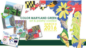 Color Maryland Green Art and Poetry Contest - 2016