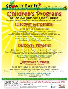 Children's Discover Program