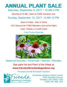FOBG_Annual_Plant_Sale_Sep2017