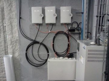 Boitier de jonction fibre optique