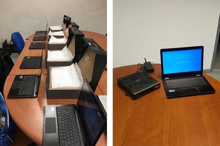deploiement d'ordinateur portable en paca