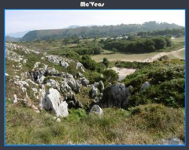 vista de playa de gulpiyuri