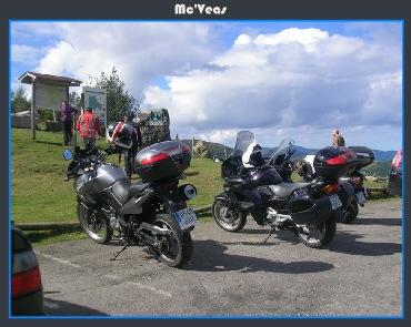 motos aparcadas en San Lorenzo