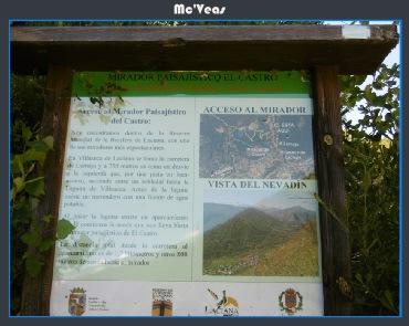 Cartel Laguna del Castro