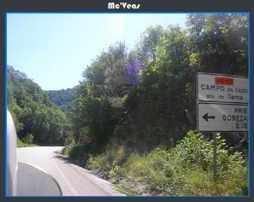 Cartel Indicador Puerto de Tarna