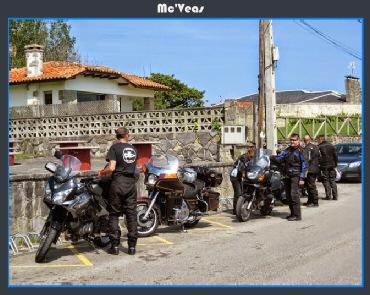 Aparcando las motos