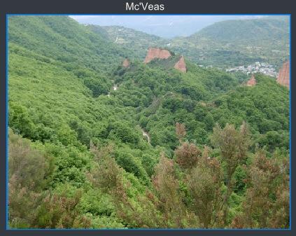 Montes de Las Médulas