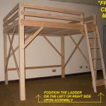 Loft Bed Twin Full Queen King Extra Long Loft Beds Bunk Bed