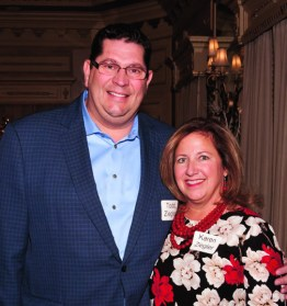 Todd and Karen Ziegler. Todd is the Central Kentucky market president for Republic Bank and a member of the Shriners Corporate Council.