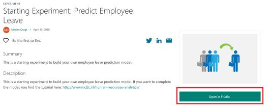 Predict employee leave starting model