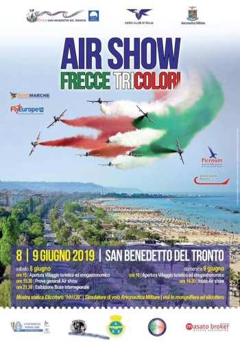 San Benedetto del Tronto air show 2019 - locandina