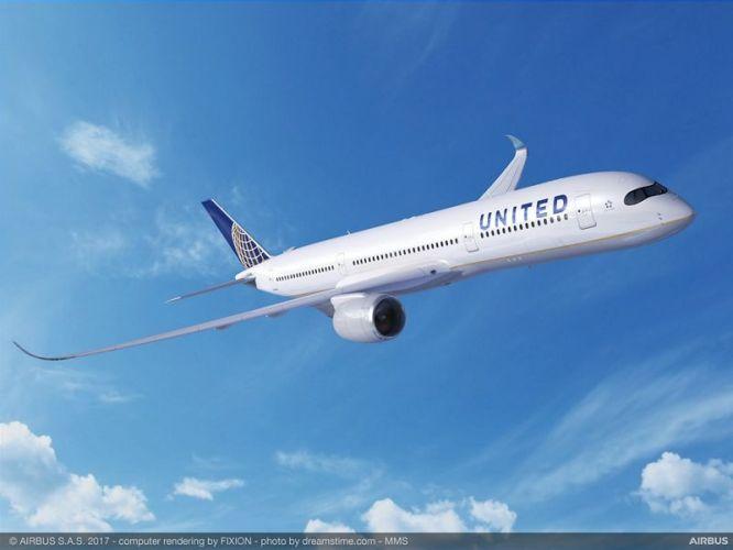 United A350 900