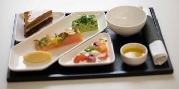 menu business Luxair 2019