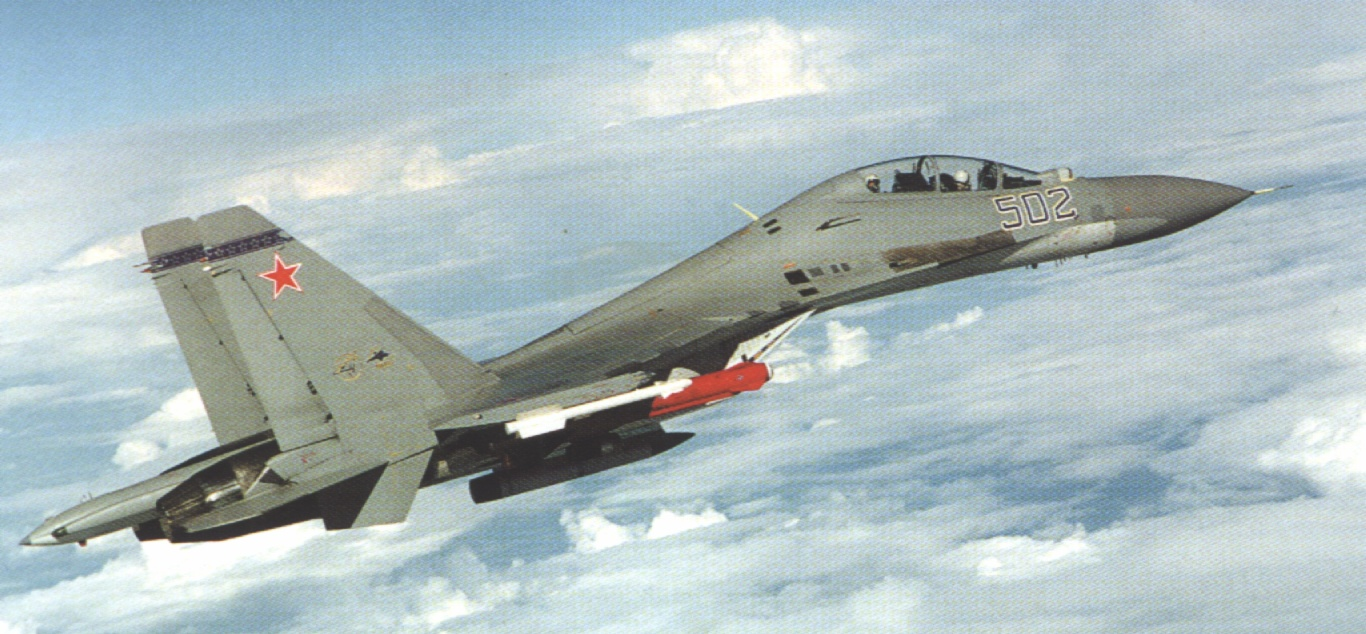 蘇愷三十/SU-30戰鬥轟炸暨管制機前