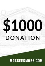 1000 donation