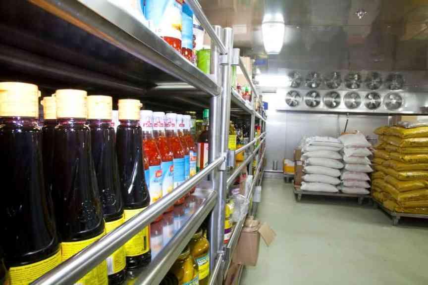 Food storage checklist