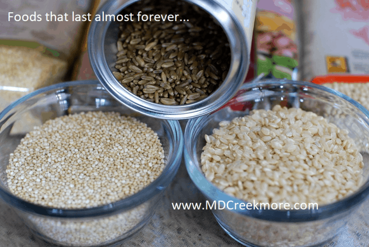 foods that last forever