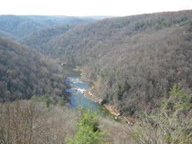 East Rim Overlook - Big South Fork TN