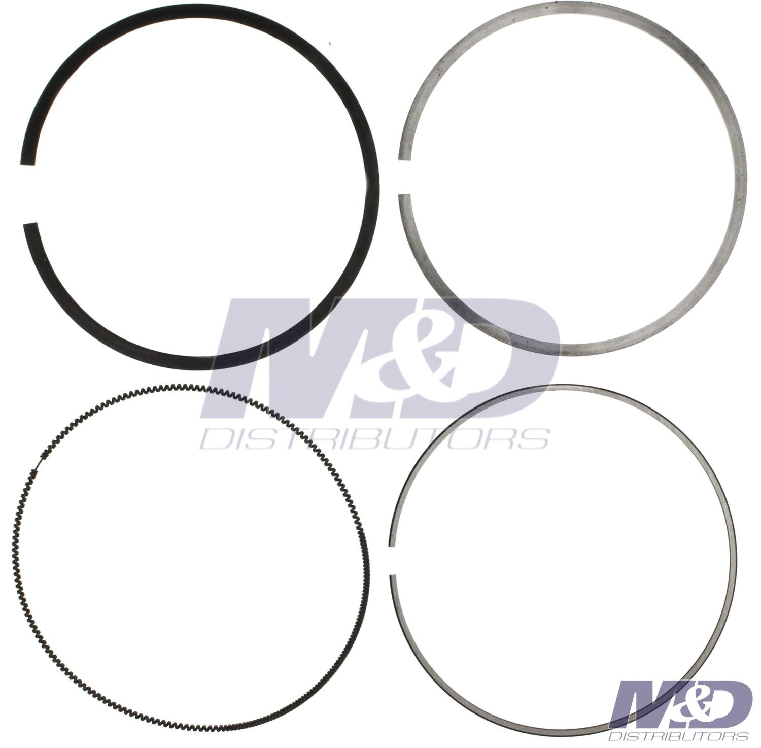 6 6l Duramax Single Cylinder 0 020 Piston Ring Set