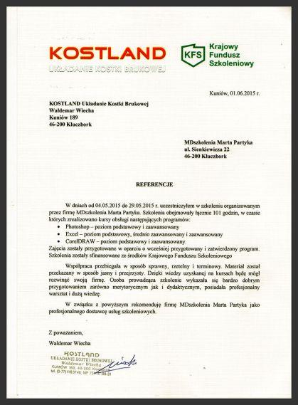 MDszkolenia.pl_Referencje_Adobe Photoshop, MS Excel, CorelDRAW