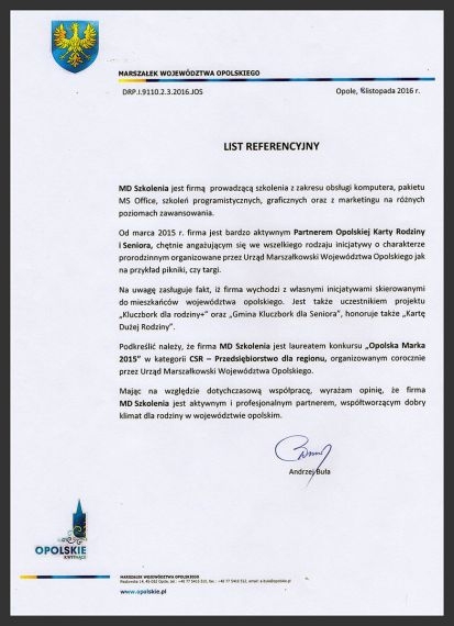 MDszkolenia.pl_List referencyjny_Opinia partnera
