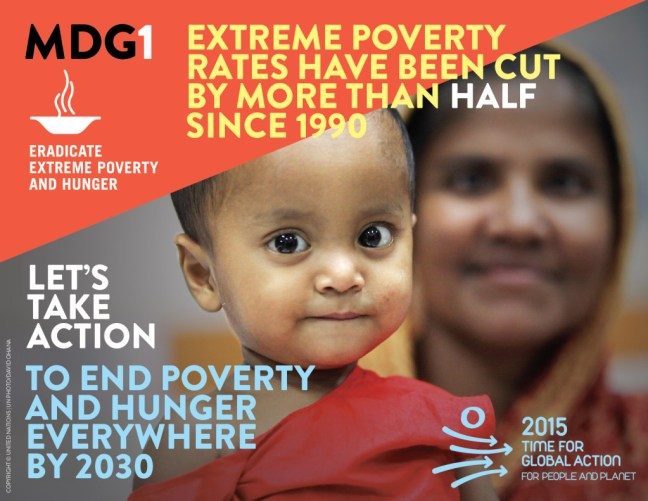 Millenium Development Goals Infographic 1