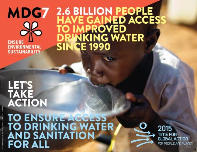 Millenium Development Goals Infographic 7