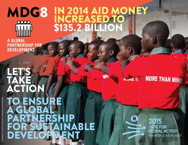 Millenium Development Goals Infographic 8