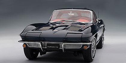 Autoart 1963 Chevrolet Corvette Coupe Daytona Blue