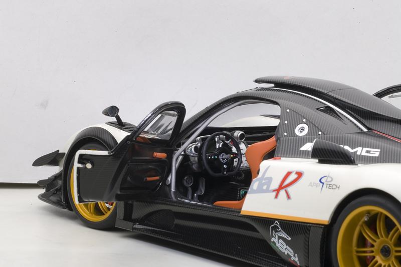 AUTOart Pagani Zonda R EVO Carbon Fiber White 78271