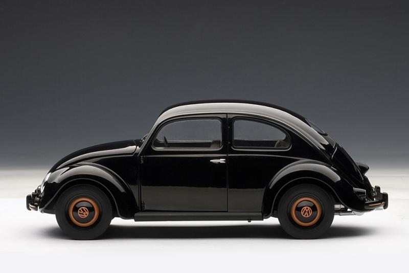 AUTOart 1948 Volkswagen Beetle Kafer Limousine Black 79771 In 118 Scale MDiecast