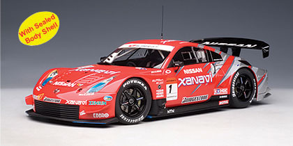 AUTOart 2005 Nissan Fairlady Z Super GT Xanavi Nismo 1 80576 In 118 Scale MDiecast