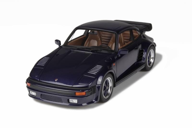 GT Spirit Porsche 911 930 Turbo Slant Nose Dark Blue GT028 In 118 Scale MDiecast