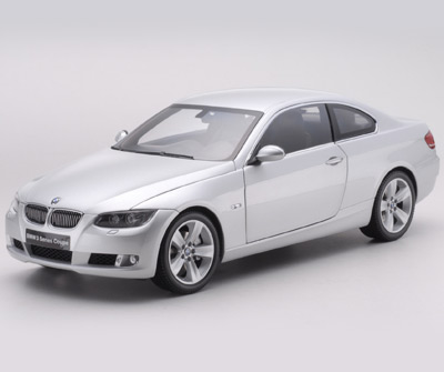 Kyosho 2007 Bmw 3 Series 2 Door Coupe E92 Silver
