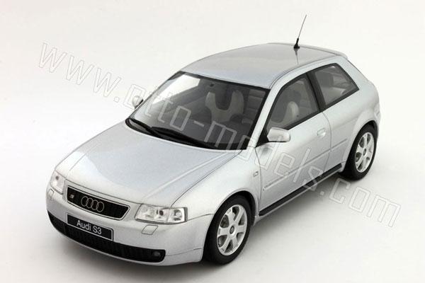 OttO 1999 Audi S3 8L Silver OT062 In 118 Scale