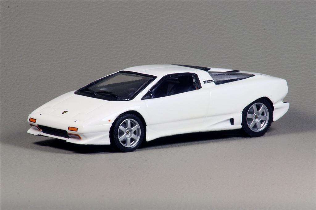 Alezan Lamborghini P140 Prototipo Restored 2008 Version In 143 Scale MDiecast