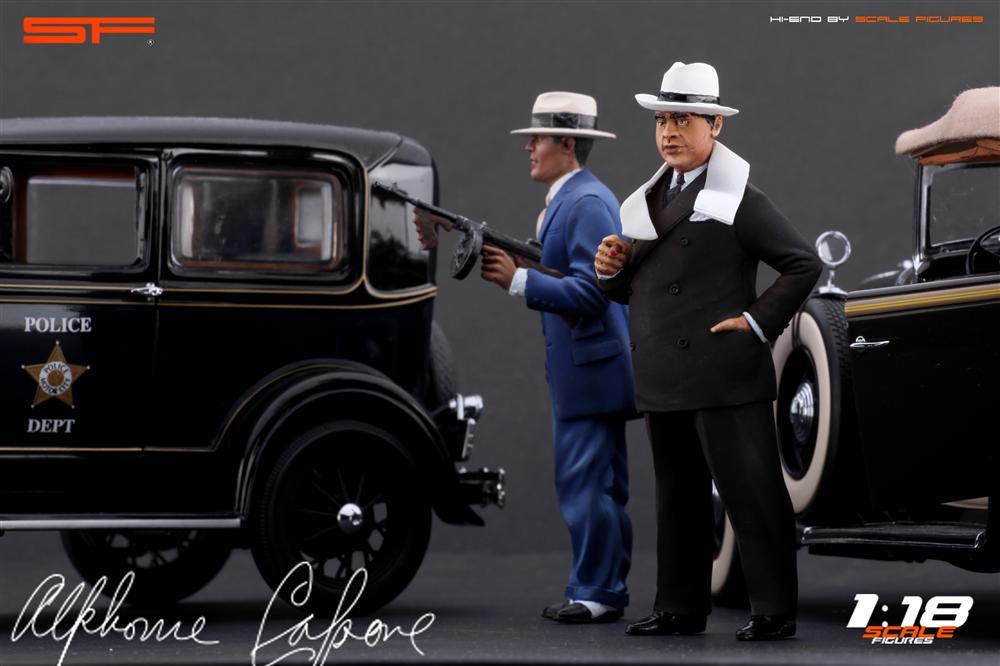 Scale Figures Al Capone Figure SF118021 In 118 Scale MDiecast