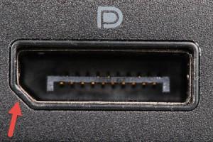 DisplayPort In