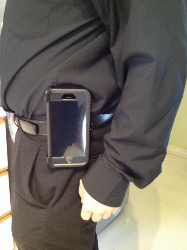 Étui OtterBox Defender à la ceinture avec iPhone 6S Plus