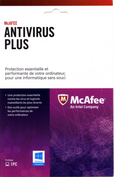 McAfee Antivirus Plus MD Informatique