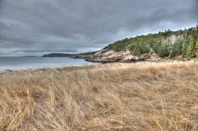 Sand Beach in Winter by John Whetstone