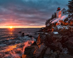 Howie 6 Bass Harbor Lighthouse