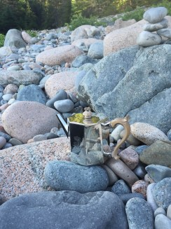 S Roberts Teapot On Hunter's Beach