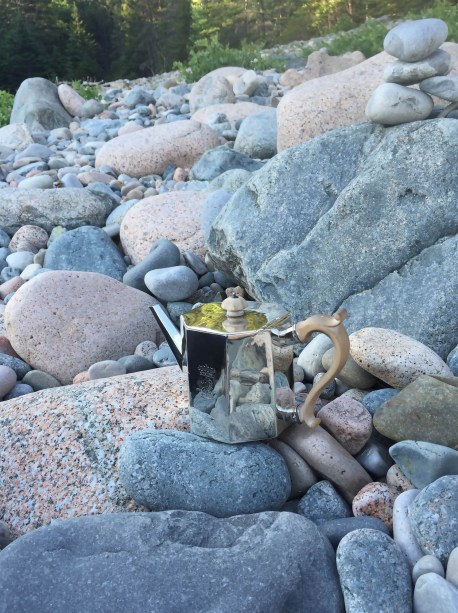 S Roberts Teapot On Hunter's Beach