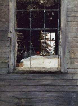 Marlene Hubbard Inspiration Wyeth's GERANIUMS Assignment