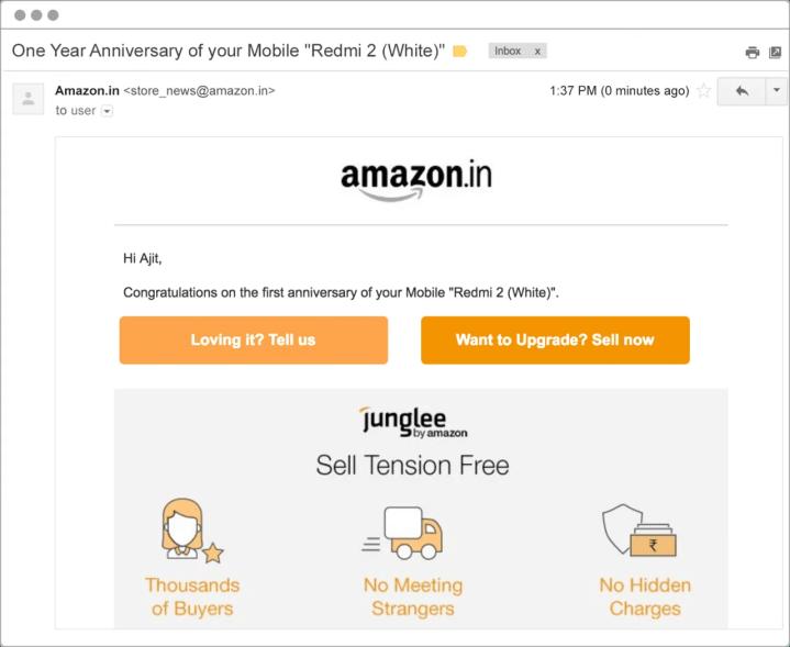 ventas email marketing para una tienda de dropshipping
