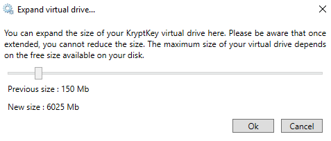 How to expand your virtual disk drive.
