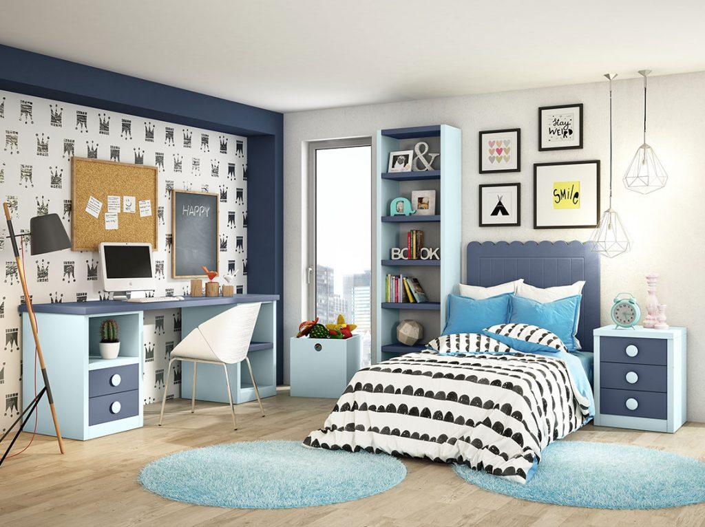 Dormitorio juvenil contemporáneo 3
